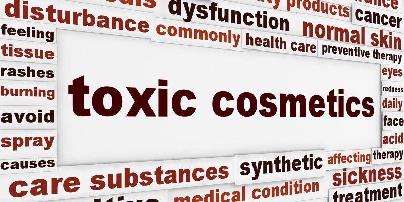 Hazardous ingredients in cosmetics