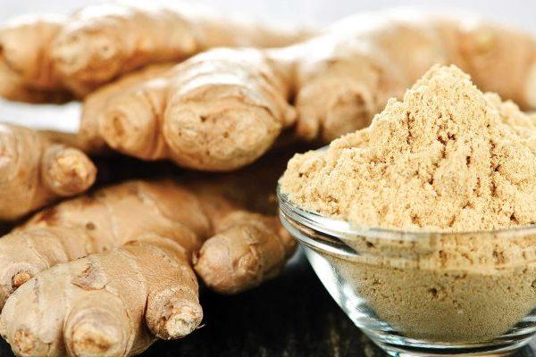 Ginger cosmetic properties