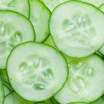 Cucumber in cosmetics