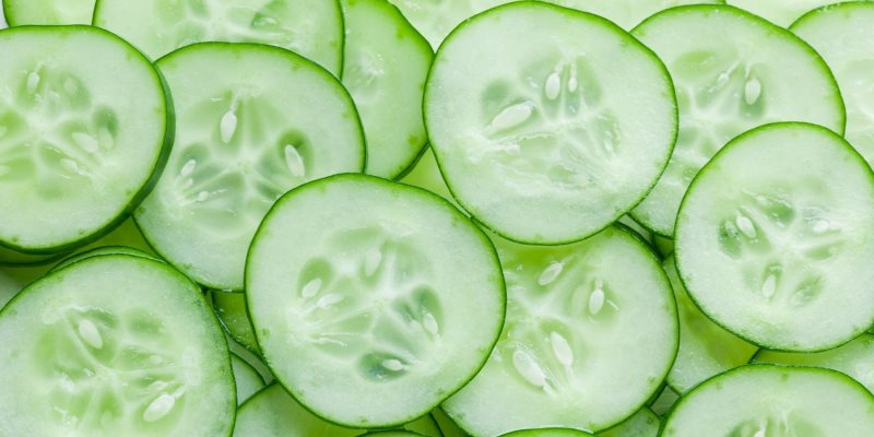 Cucumber skin and hair benefits